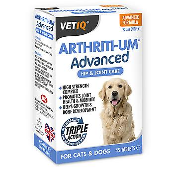Vetiq Arthriti-um avanceret 45 tabletter