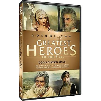Greatest Heroes of the Bible: Volume Two [DVD] USA import