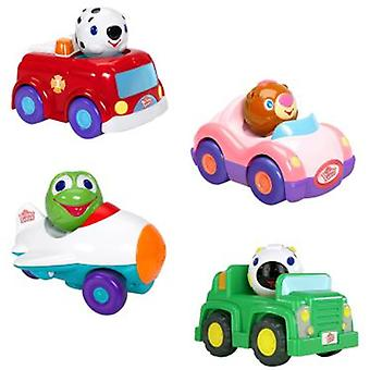 Bright Starts Characters vehicles Press And Zoom (Jouets , Maternelle , Véhicules)