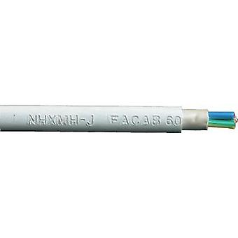 Sheathed cable NHXMH-J 5 G 2.50 mm² Grey Faber Kabel 020195 Sold per metre