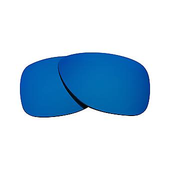 New SEEK Polarized Replacement Lenses for Oakley DISPATCH II Grey Blue Mirror
