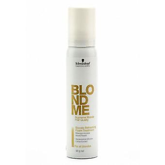 Schwarzkopf BLONDME Blonde Refreshing Foam Treatment 100ml