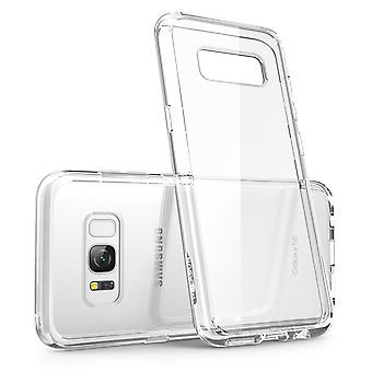 Samsung Galaxy S8 Case, Scratch Resistant, i-Blason, Clear Halo Series,Hybrid Bumper Case Cover, S8 Case, Samsung Case