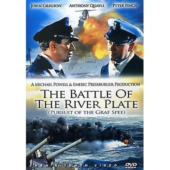 Slaget ved River Plate [DVD] USA importerer