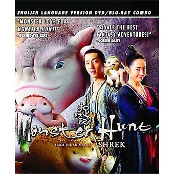 Monster Hunt: Engelska språkversionen [DVD] USA import