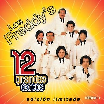 Los Freddy's - Los Freddy's: Vol. 1-12 Grandes Exitos [CD] USA importerer