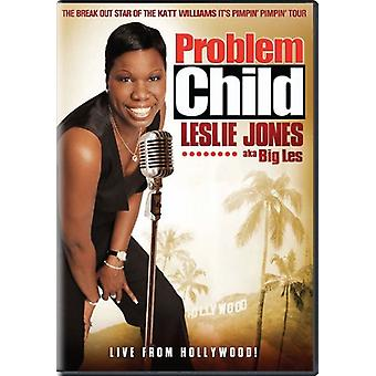 Problembarn: Leslie Jones (Aka Big Les) [DVD] USA importerer