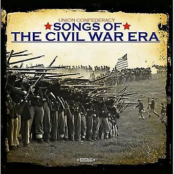Union Confederacy - Songs of the Civil War Era [CD] USA import
