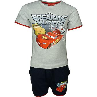 Boys Disney Cars McQueen 2 Piece Set T-shirt & Shorts OE1224