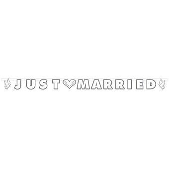 Garland gift bara 150cm dekoration bröllop text Garland bröllop inredning