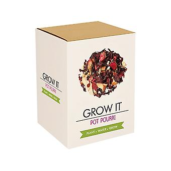 Grow it plant set pot pourri gift seed Kit