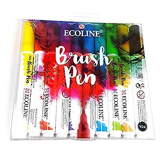 Royal Talens Ecoline Brush Pen 10 Pack