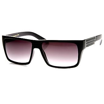 Moda moderna de alta calidad plano superior gafas de sol rectangulares