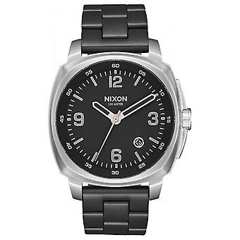 Nixon The Charger Watch - Black/Silver