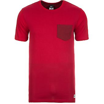 2016-2017 England Nike Authentic Sideline Top (Red)