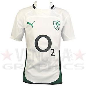 PUMA ireland away authentic rugby shirt 09/10