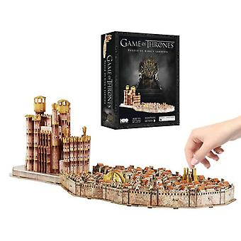 Eleven Force 3D Puzzle Games Thrones  King's Landing  (Toys , Boardgames , Puzzles)