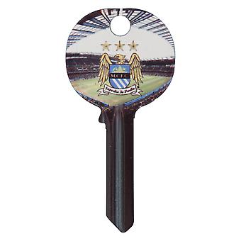 Manchester City FC Official Football Crest Key Blank