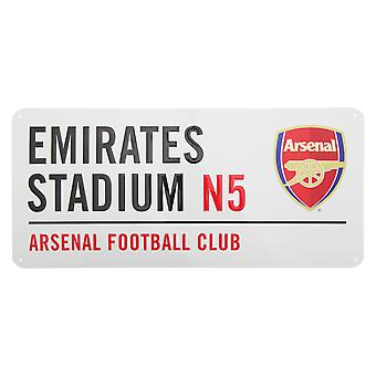 FC Arsenal offisielle Emirates Stadium metall Football Club Street Logg