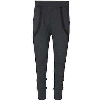 Tazzio fashion men's sweatpants of sweatpants birds grey