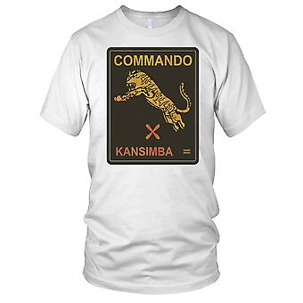 Commando Kansimba Mercenary Grunge Effect Mens T Shirt