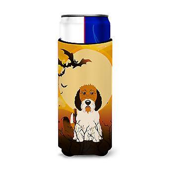 Halloween Petit Basset Griffon Veenden Michelob Ultra Hugger für schlanke Dosen