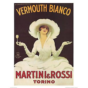 Vermouth Bianco Poster Print by Marcello Dudovich (16 x 20)
