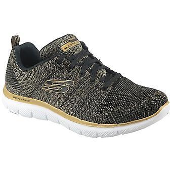 スケッチャーズ Flex アピール 20 12771BKGD runing すべて年女性靴