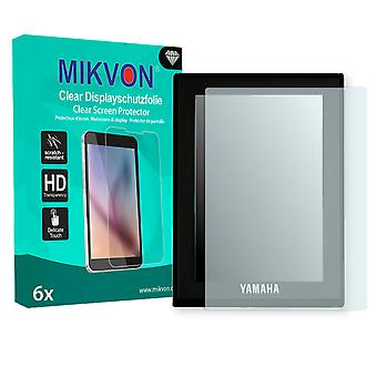 Yamaha E-Bike LCD-Display (2016) Screen Protector - Mikvon Clear (Retail Package with accessories)