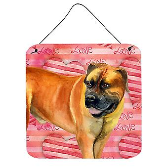 Boerboel Mastiff Love Wall or Door Hanging Prints