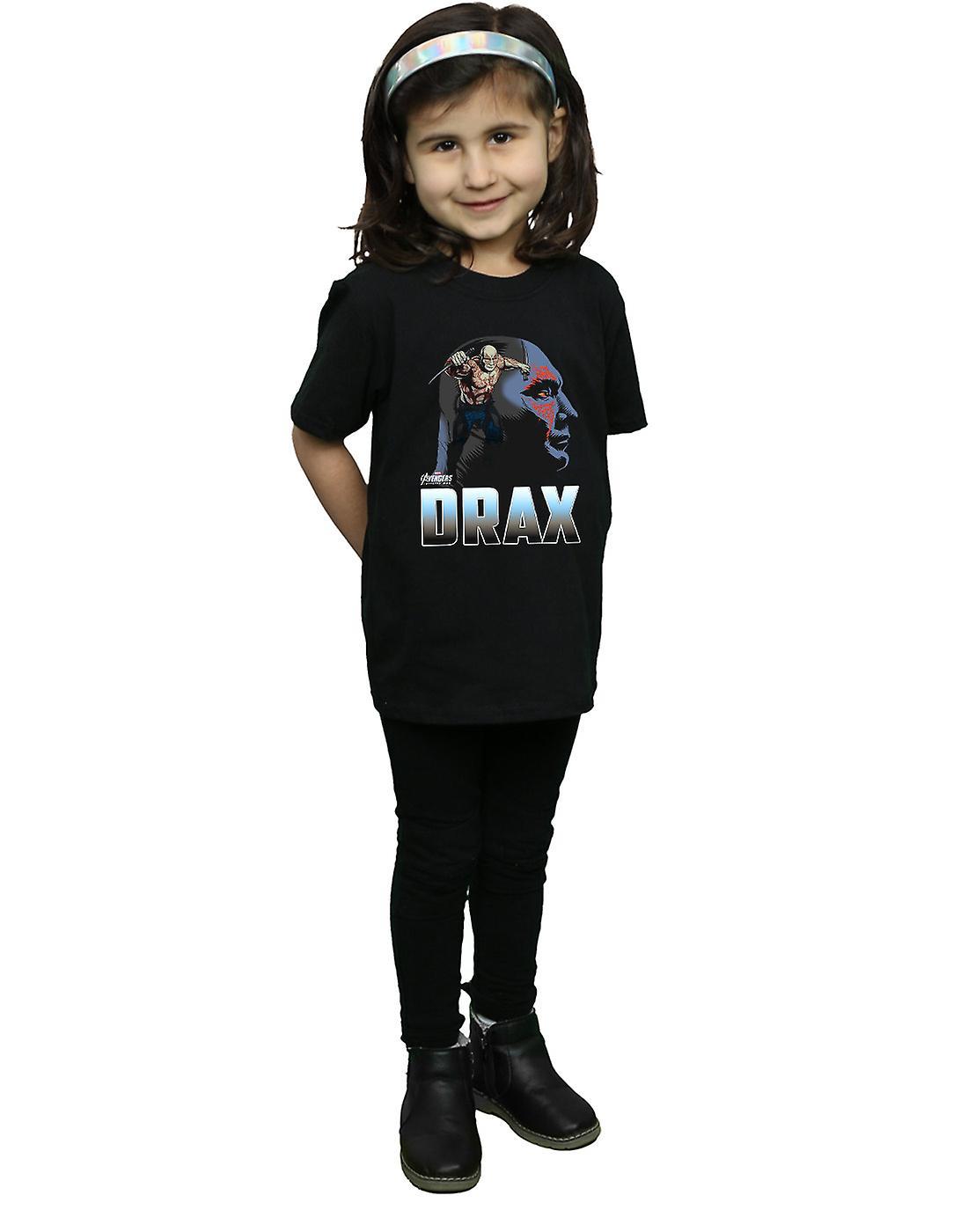 Avengers Girls Infinity War Drax Character T-Shirt