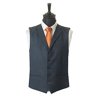 Psyche collectie Slim Fit Check gilet