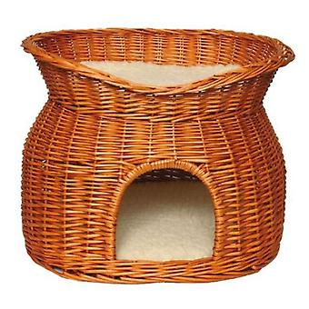 Trixie Superior Wicker Cave Bed 54 x 43 x 37cm (Cats , Bedding , Igloos)