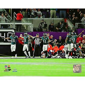 Das letzte Spiel der Super Bowl LII Fotoabzüge