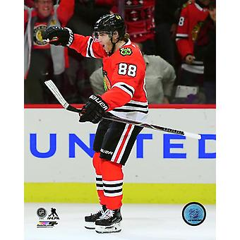 Patrick Kane 2017-18 Action Photo Print