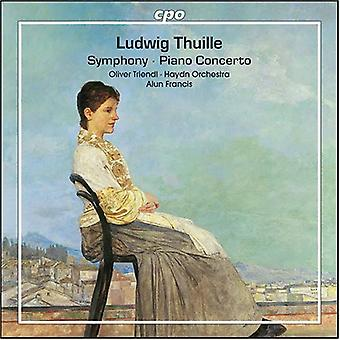 L. Thuille - Ludwig Thuille: Symphony; Piano Concerto [CD] USA import