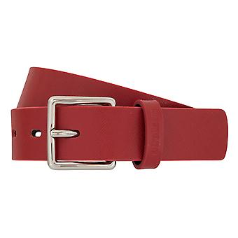Strellson belts men's belts leather belt red 2904