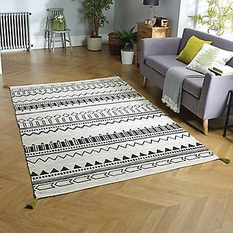 Beni Weavers Green  Rectangle Rugs Traditional Rugs