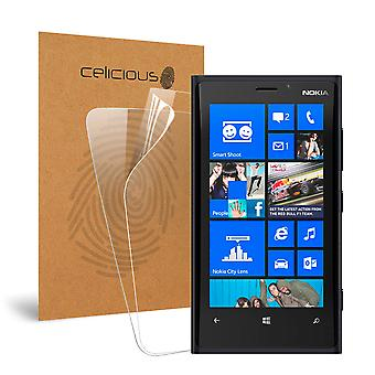 Celicious vivido invisibile Glossy HD Screen Protector Film compatibile con Nokia Lumia 920 [Pack 2]