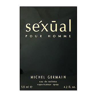 Michel Germain Sexual Pour Homme Eau De Toilette Spray 4.2Oz/125 ml New In Box