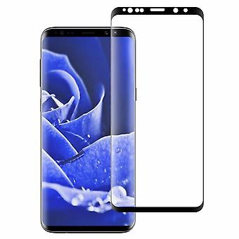 Hybrid TPU premie buet tank lysbilde svart film for Samsung Galaxy berøring 9 N960F