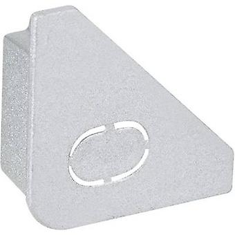 U-section rail end cap (W x H x D) 0.8 x 2 x 2 cm Paulmann Delta 70266