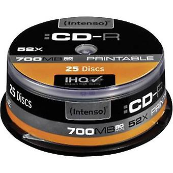 Blank CD-R 80 700 MB Intenso 1801124 25 pc(s)