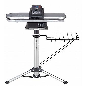 Silver Steam Ironing Press 64cm with Stand