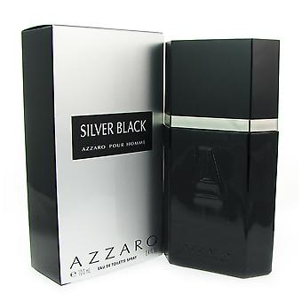 Azzaro Silver Black for Men 3.4 oz EDT Spray