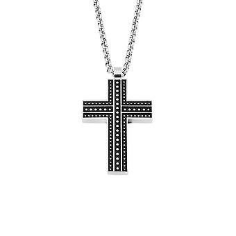 s.Oliver jewel mens chain stainless steel 2022638 cross bicolor
