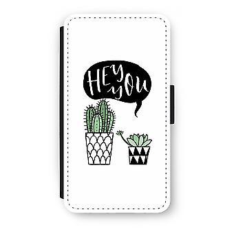 Motorola Moto G4/G4 Plus Flip Case - Hey vous cactus