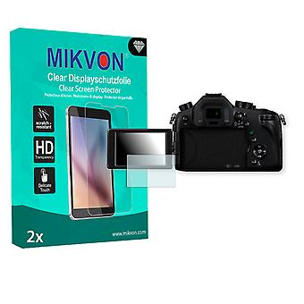Panasonic Lumix DMC-FZ1000 Screen Protector - Mikvon Clear (Retail Package with accessories)