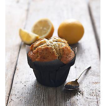 CSM gefroren Zitrone und Poppy Seed Muffins