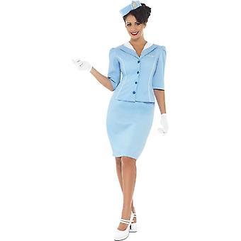 Air Hostess Costume, UK Dress 8-10